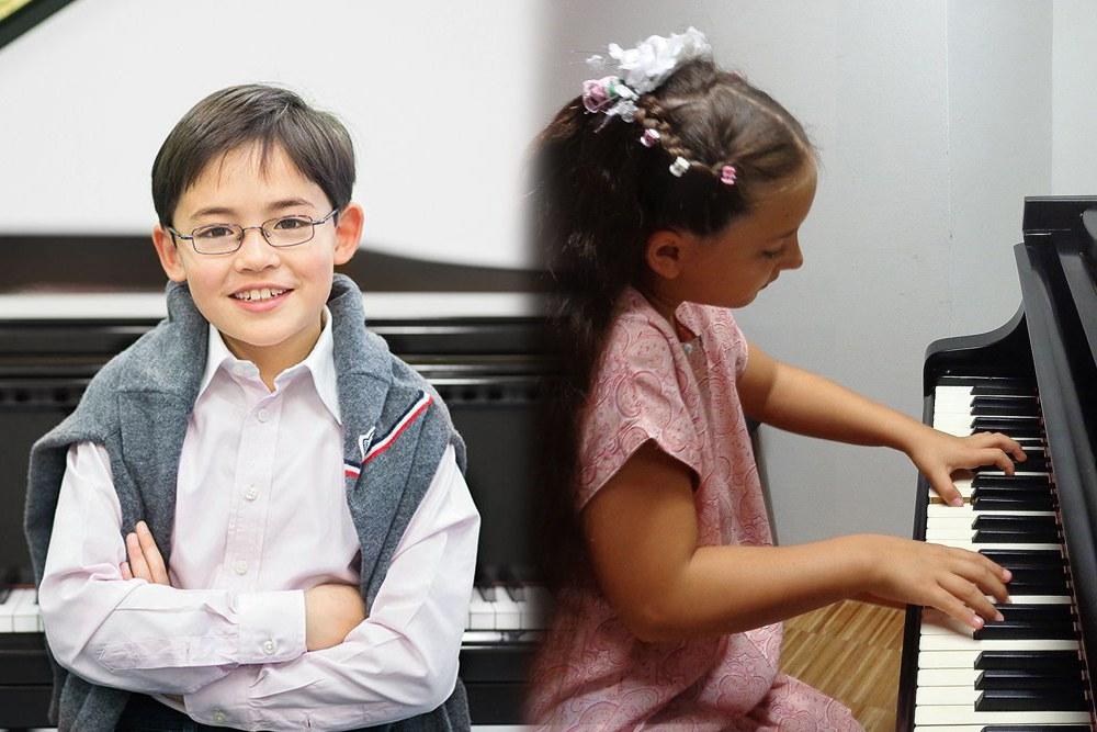 Stargeiger-Sohn Arthur Zimmermann (Foto © Susanne Diesner) und Neusserin Victoria Wachenfeld (Foto privat)