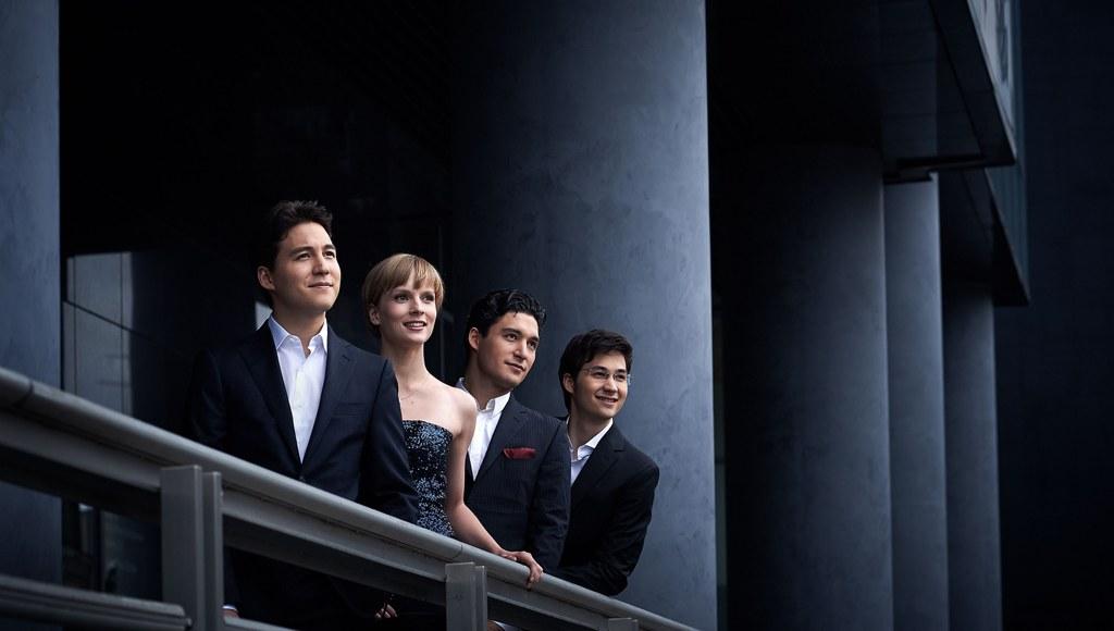 Das Schumann Quartett, Foto: © Kaupo Kikkas.
