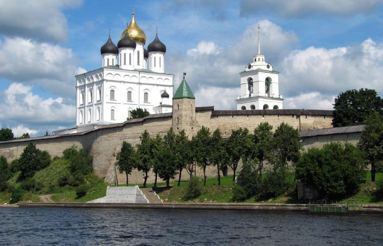 Bürgermeister zu Besuch in Pskow