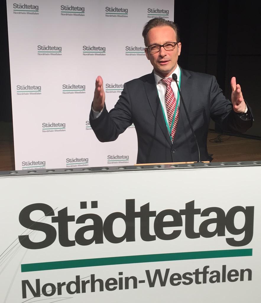 Bürgermeister Reiner Breuer in Vorstand des Städtetages NRW gewählt