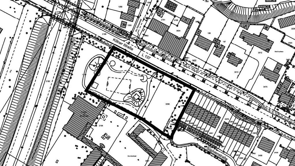 Bebauungsplan Gnadental - Sophienstraße/Kölner Straße