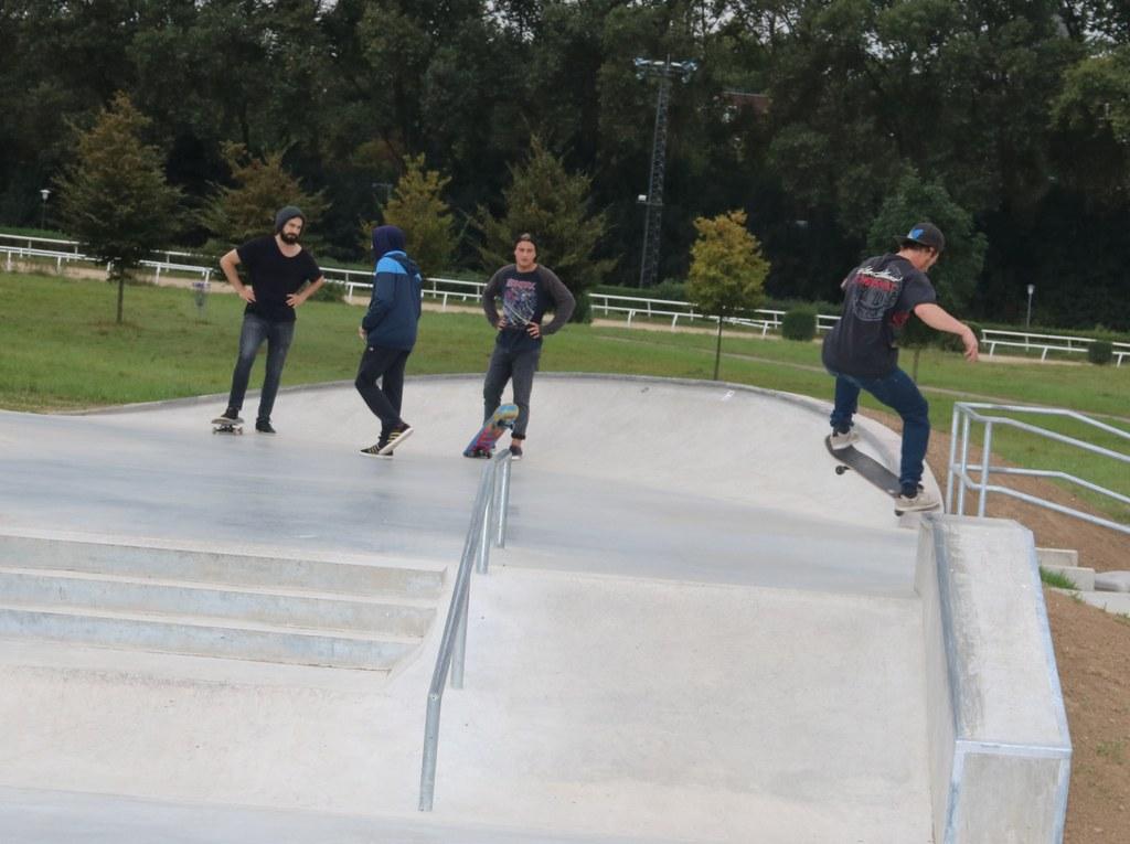 Skater-Event: 1ST Concrete Jam