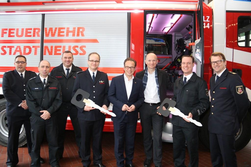 Neue Feuerwehrfahrzeuge