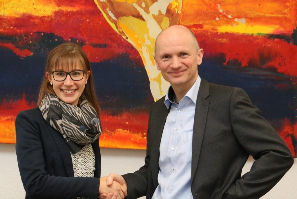 Rebecca Hartmann und Dr. Matthias Welpmann