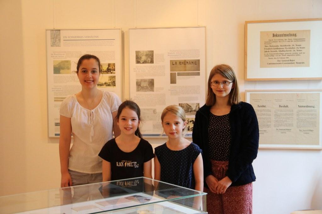 (v.r.) Landessiegerin Gesine Siebert und die Förderpreisträgerinnen Lisanne Zühlke, Sonja Metzdorf und Henrike Elder.