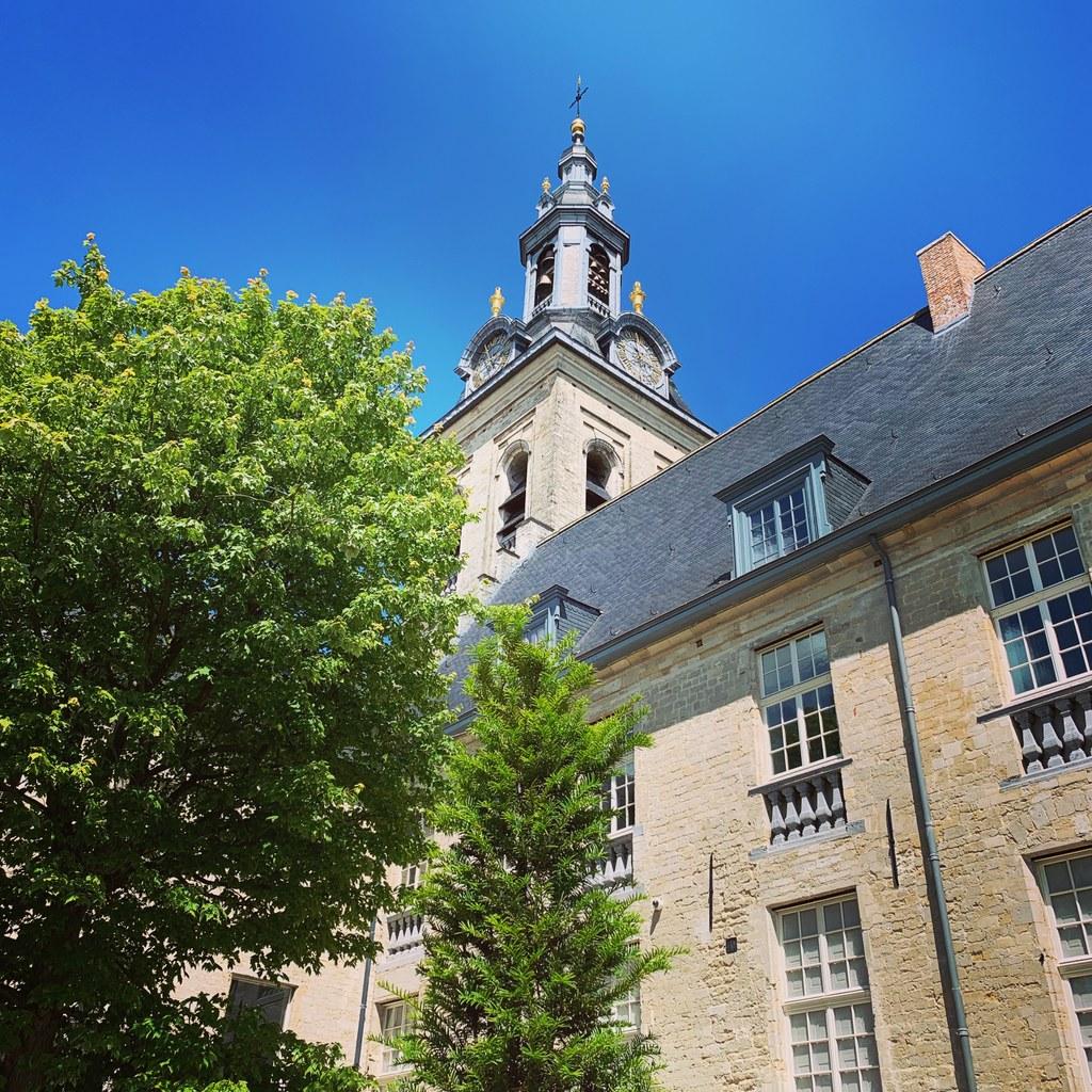 Glockenturm der Parkabtei in Leuven