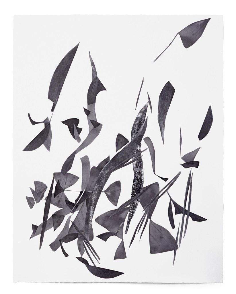 Frauke Dannert, Ohne Titel, Papiercollage, Courtesy Galerie Rupert Pfab, Düsseldorf und Galerie Lisa Kandlhofer, Wien, Foto: Ben Hermanni, Lemgo