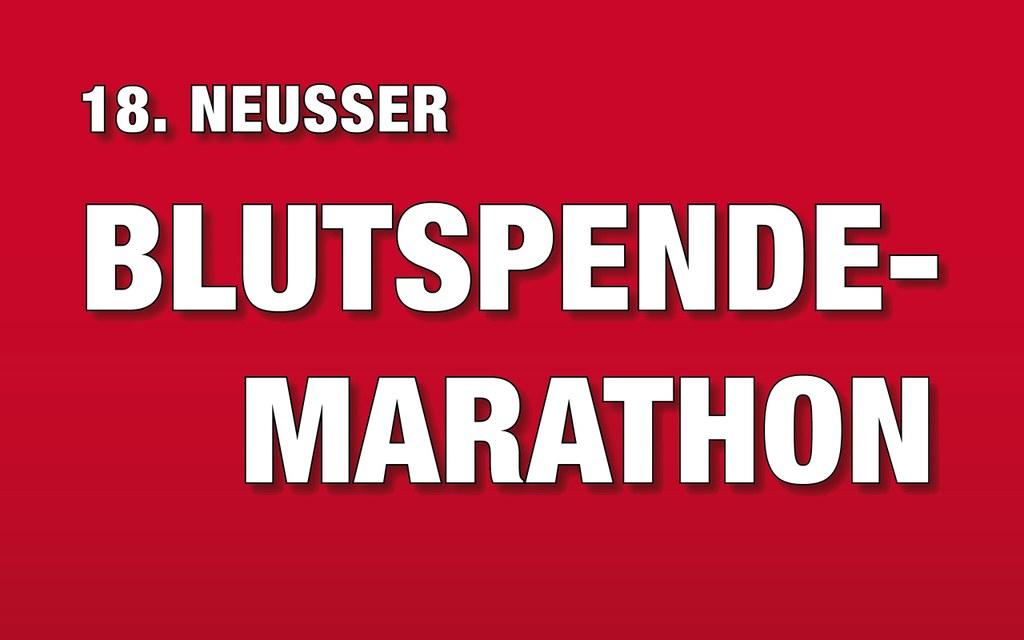 18. Blutspende-Marathon