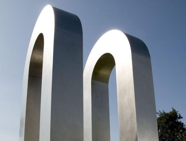 Stadteingangszeichen von Josef Neuhaus, Foto Fabio Borquez