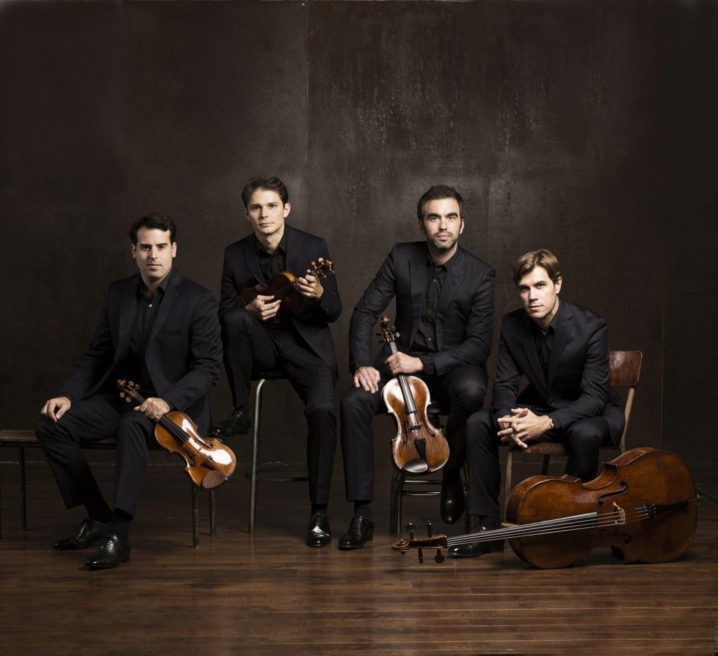 Quatuor Modigliani - Foto: Luc Braquet