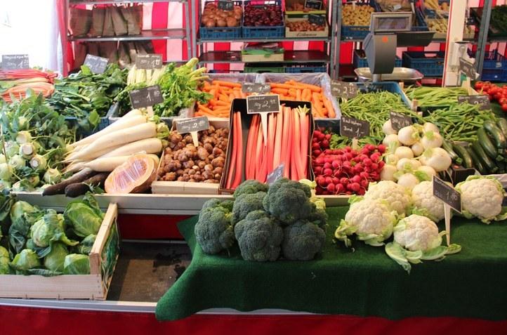 Markt auf Münsterplatz