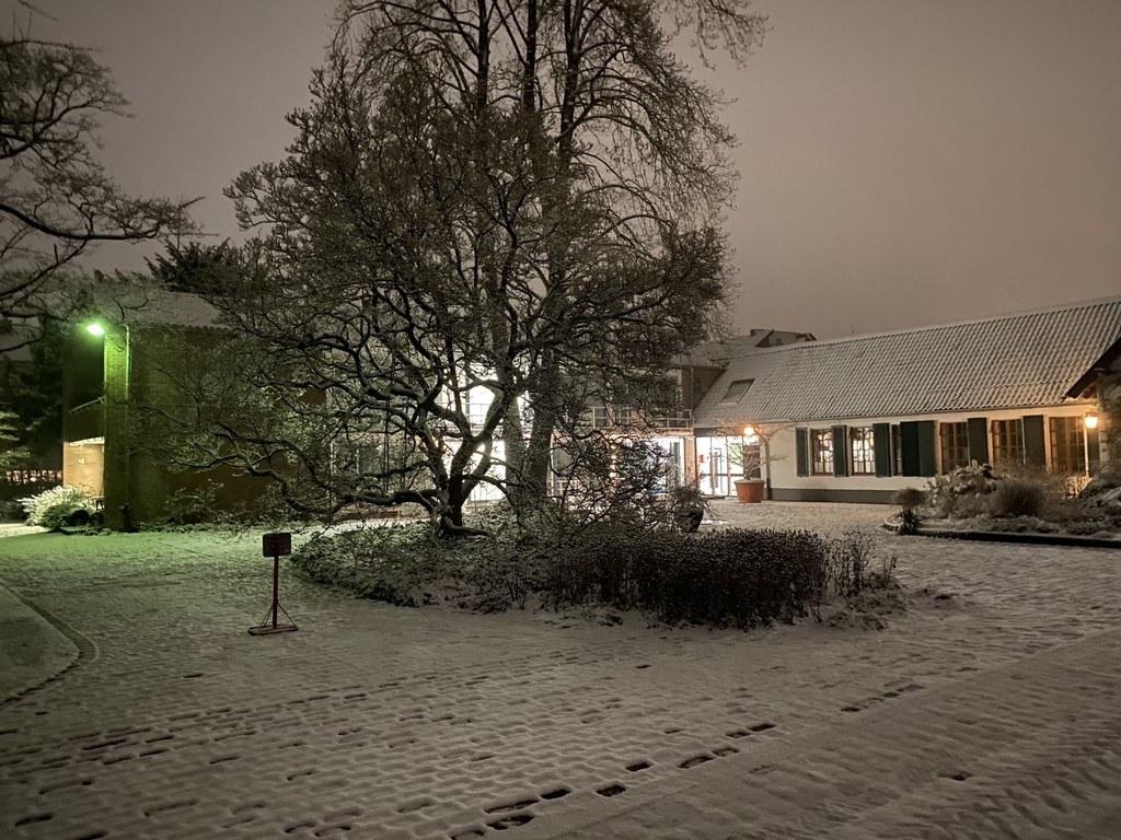 Wintereinbruch in Neuss