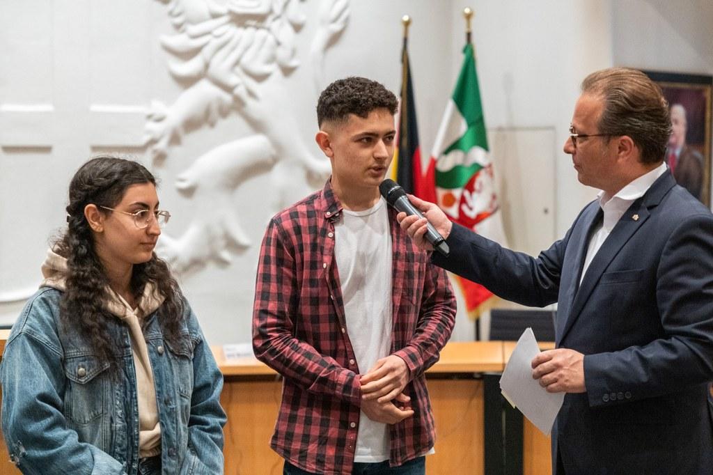 3. Platz: Jugendvorstand der interkulturellen Projekthelden - Foto: Stadt Neuss