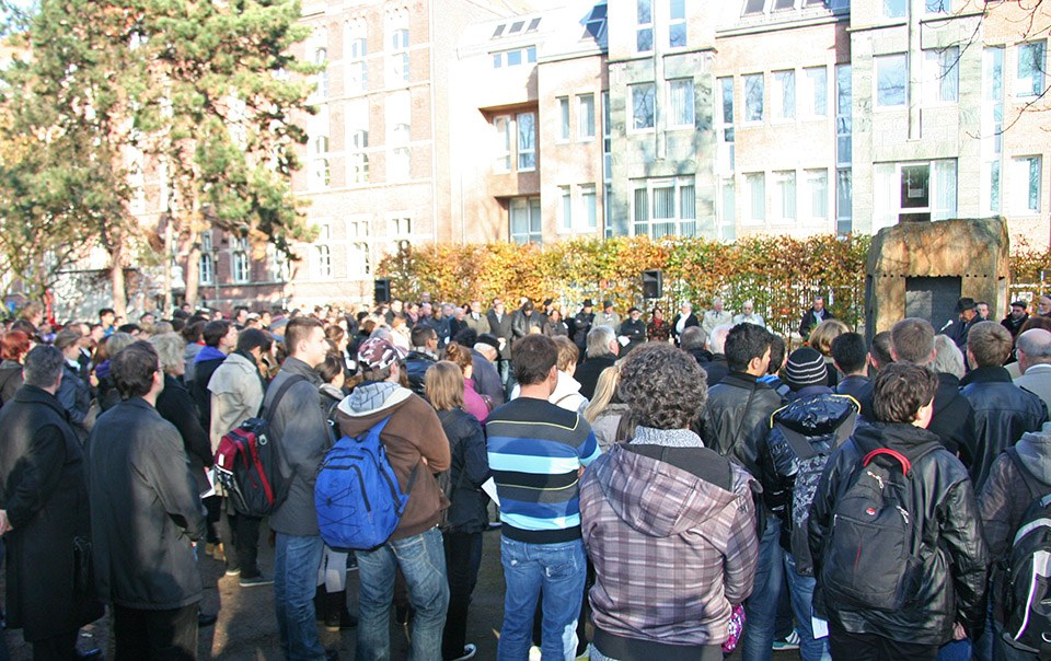 Gedenkstunde 9. November 2011