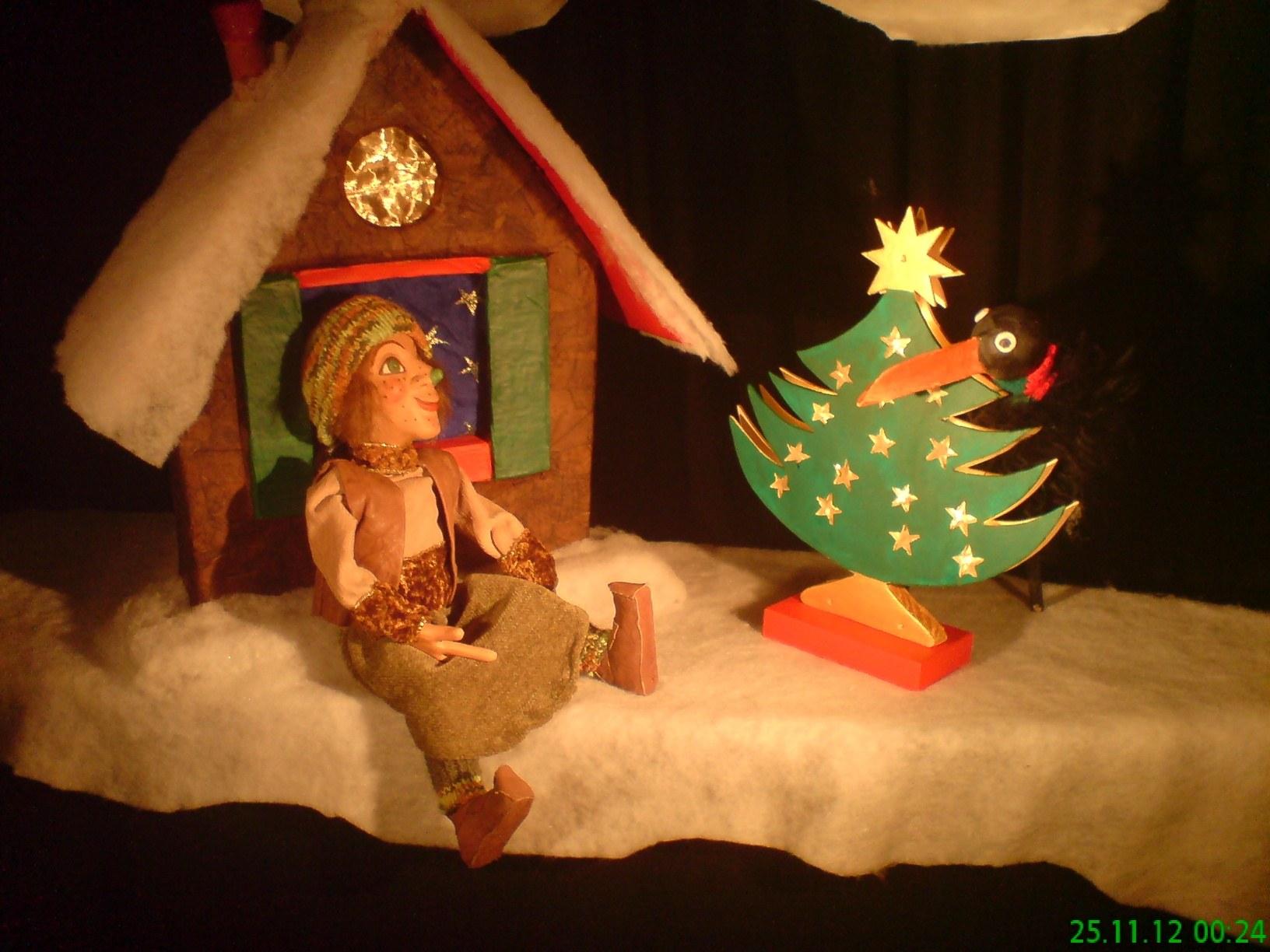 Puppentheater - Lexy feiert Weihnachten