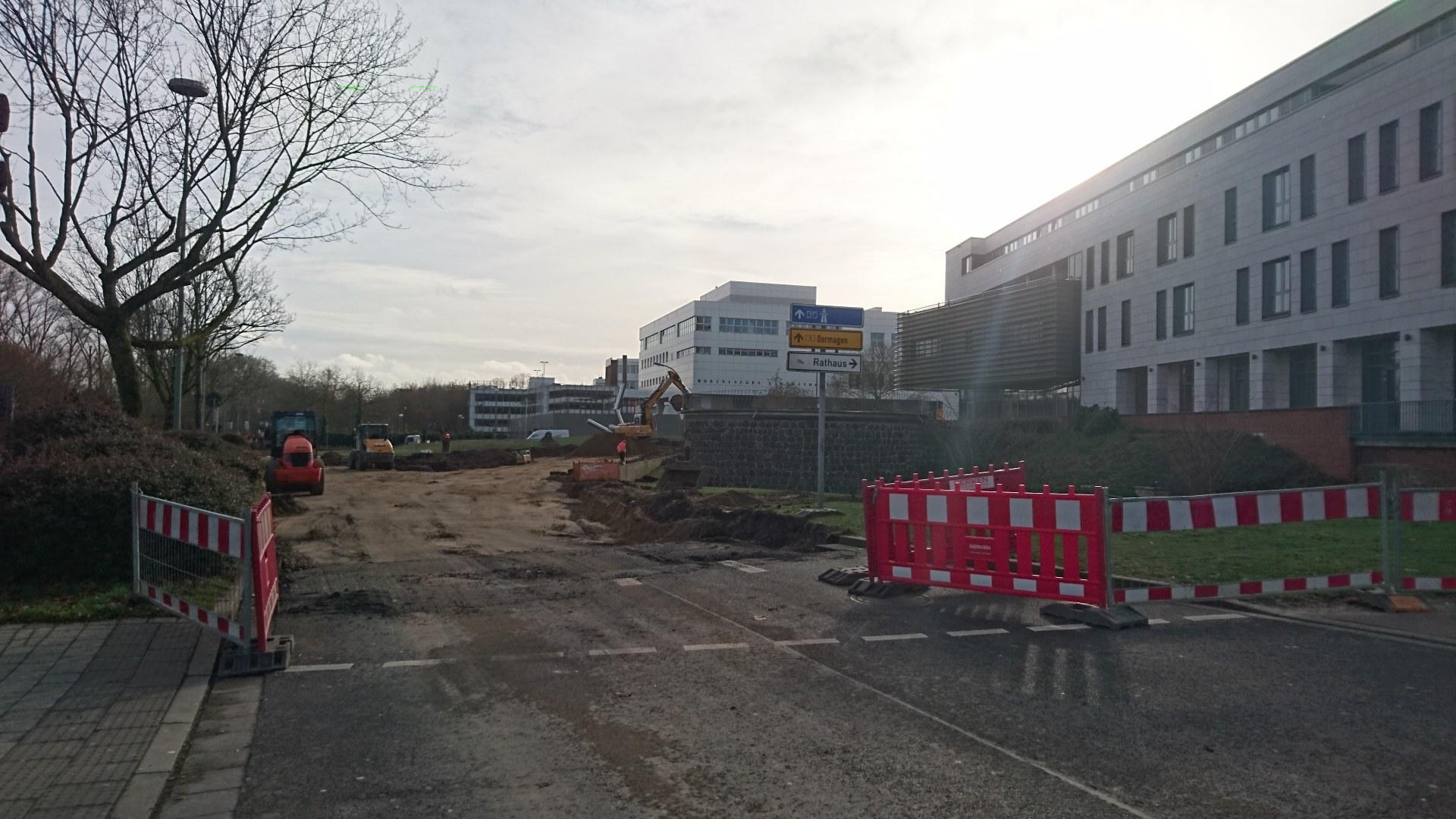 Baustelle Hessentor