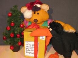Weihnachtspost für Wollebär, Foto: Figurentheater Turbine
