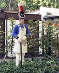 Sappeur von U. Küppers-Schollmayer, Deutsche Straße, 1980