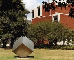 Würfel von J. Neuhaus, Stadtgarten, um 1985