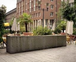 Granitquader, Weisses Haus, U.Rückriem, 1994
