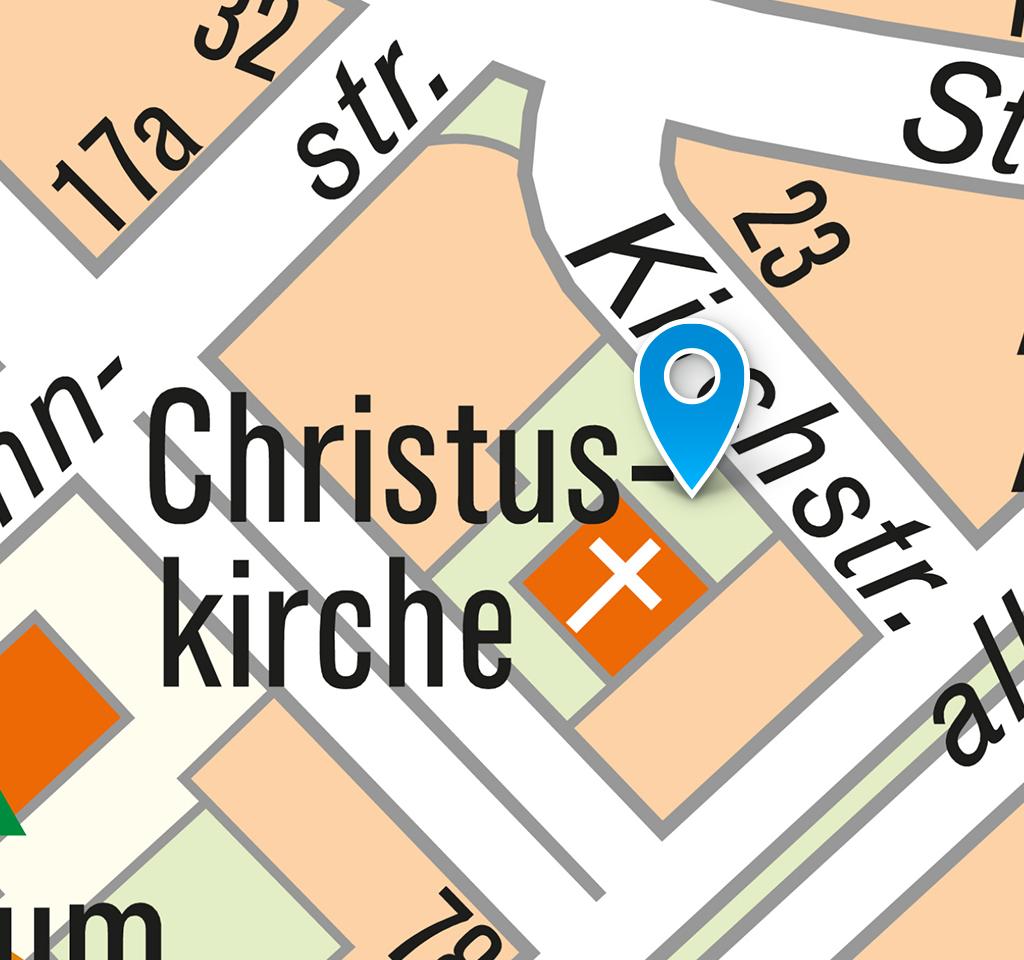 Evangelischer Friedhof: Lageplan 2018