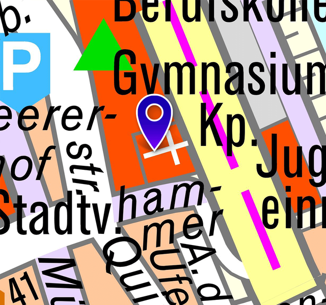 Kirche und Kloster Marienberg: Lageplan 2019
