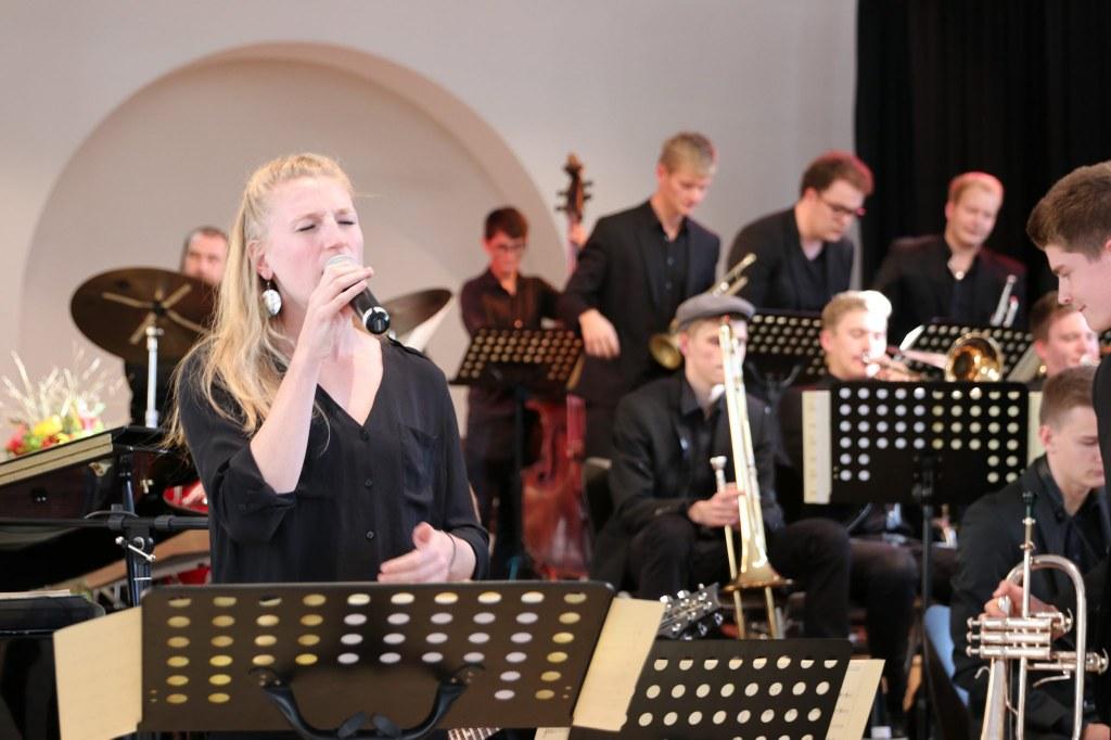 Schon seit langer Zeit Tradition! Die Big-Band-Kooperation der Musikschule mit dem Marie-Curie-Gymnasium