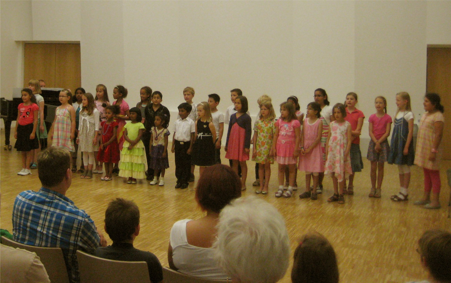 Kinderchor 3.7.2012