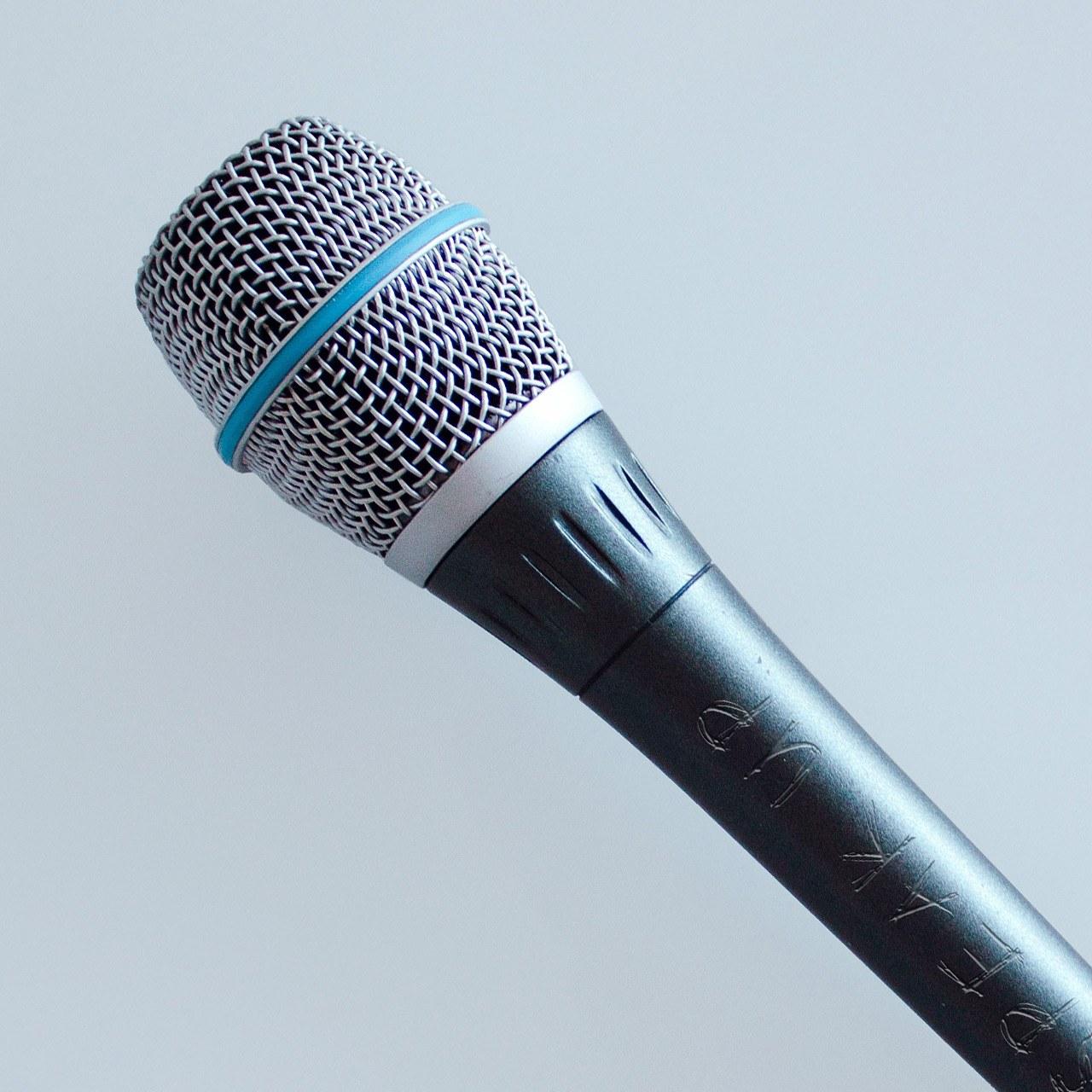 Gesang, Mikrofon (quadratisch)