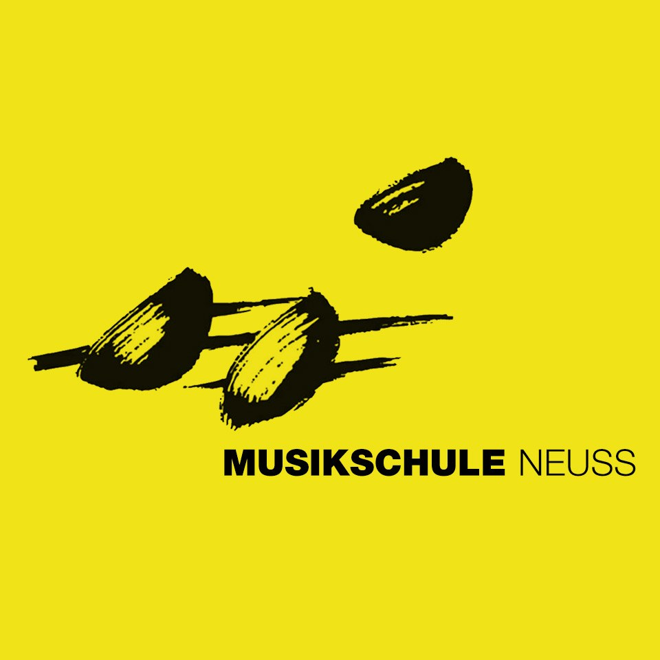 Logo »Musikschule« (gelb)