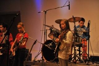 Bandfestival mit Musikschulbands