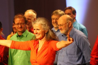 Der Jazzchor der Musikschule Neuss gibt zum ersten Mal sein Konzert im Pauline-Sels-Saal
