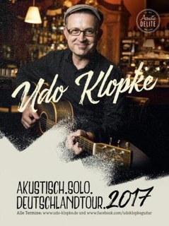 Konzert mit unserem Gitarrenlehrer Udo Klopke