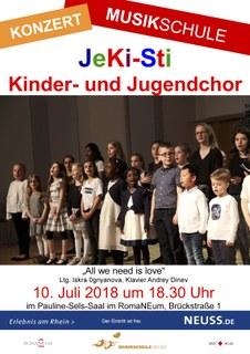 Der JeKi-Sti Kinder- und Jugendchor im Konzert!