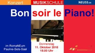 Ein französischer Abend rund um das Klavier