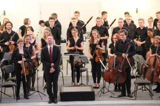 SINFO mit jugendlich sinfonischen Klängen Zeughaus
