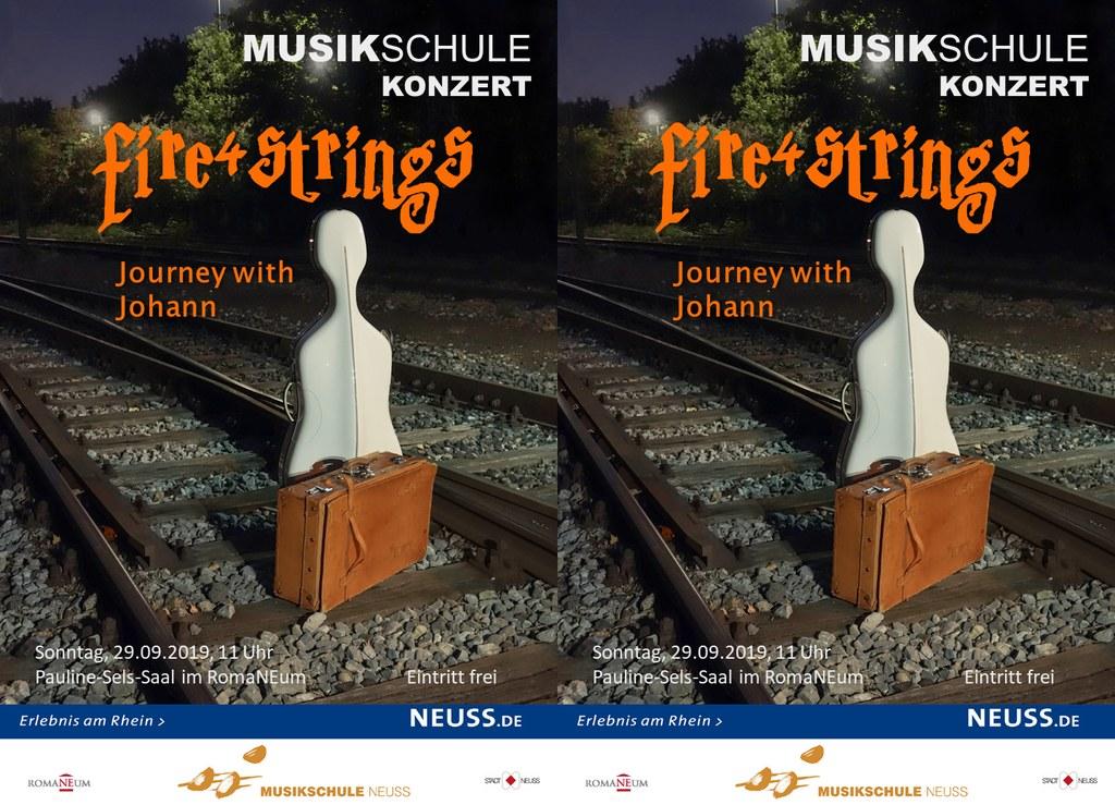 """fire4strings – """"Journey with Johann"""""""