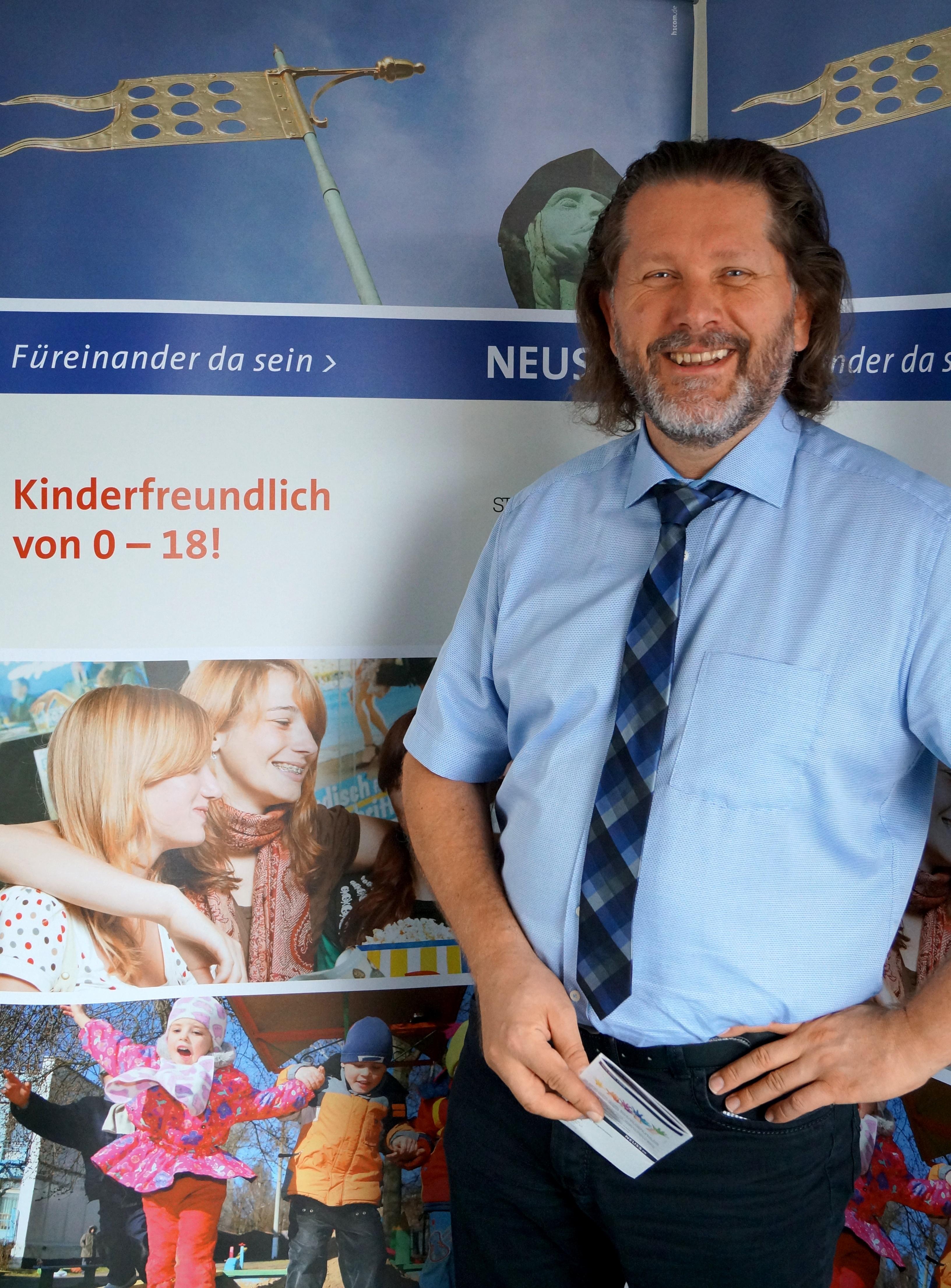 Jugendamtsleiter Markus Hübner