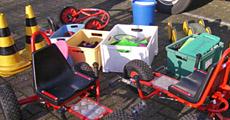 Vermietung Spielmobil: Großspielzeug