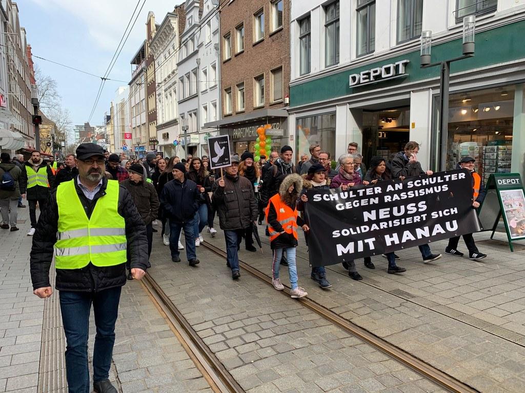 Resolution der Stadt Neuss anlässlich der fremdenfeindlichen Anschläge von Hanau
