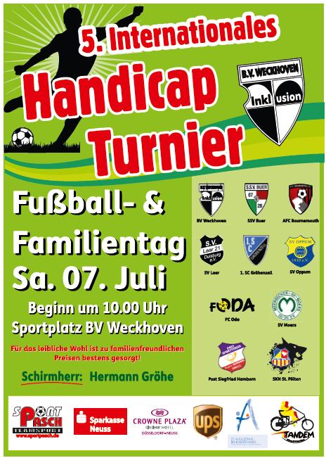 Fußball-Handicap Turnier 2018