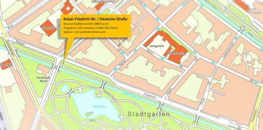 Karte Aktionstag: Stadtgarten
