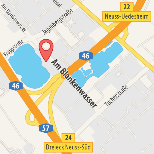 Karte: Sandhofsee, Stand Up Paddling