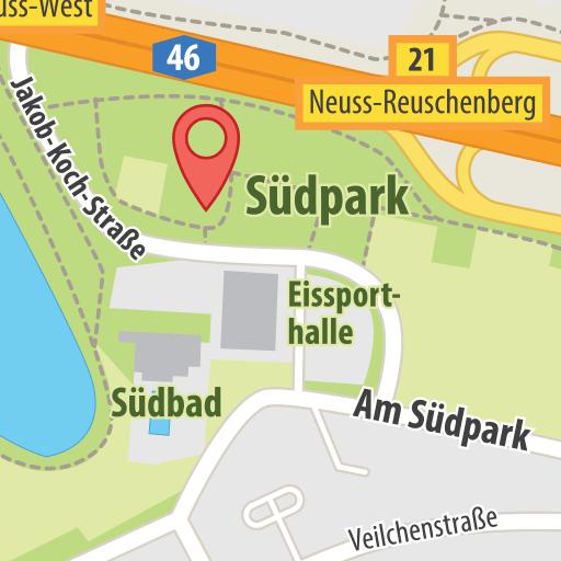Karte Südpark