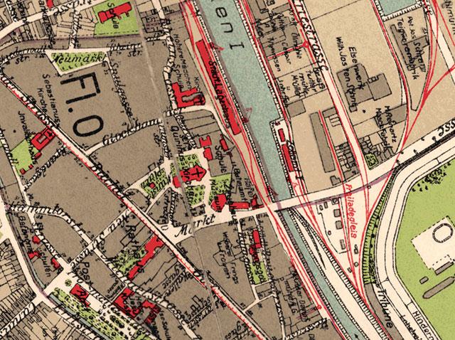 Rubrikenbild: Historische Stadtpläne