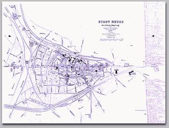 Neusser Stadtplan 1873