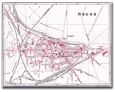 Neusser Stadtplan 1896