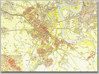 Neusser Stadtplan 1965