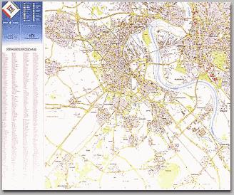 Neusser Stadtplan 1986