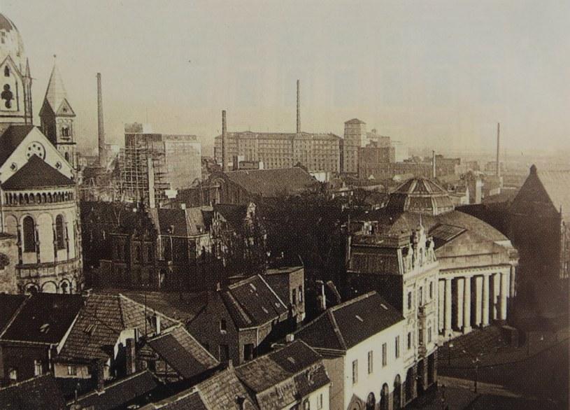 Blick Richtung Hafen um 1930